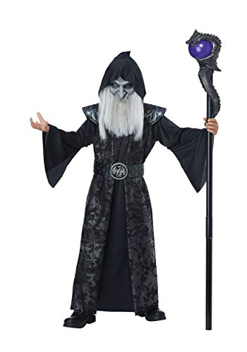 Boys Wizard Costume (Dark Wizard - Child Costume)