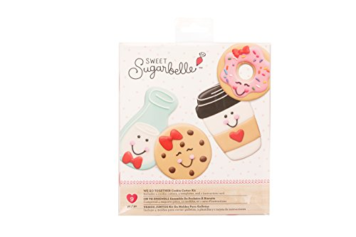 Sweet Sugarbelle 9 Piece Cookie Cutters We Go Together Valentine's Day