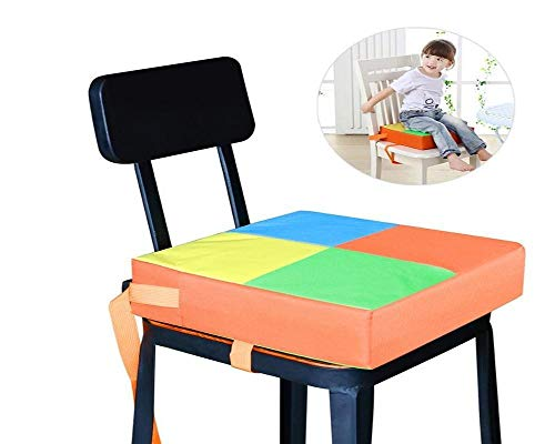 Phonecessity Baby Kids Children Dining Chair Booster Cushion Seats Dis-mountable and Adjustable Booster by Phonecessity (Image #3)