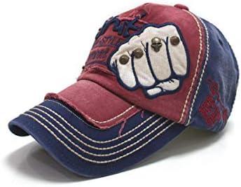 Xinqing Gorra de béisbol de Denim de Moda, para Hombres, tamaño ...