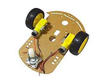 Intelligent Car Body Kit 2 Wheel 2WD Motor Robot Car