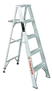 Truper esta 24 escalera de tijera aluminio tipo ll 4 for Escaleras aluminio amazon