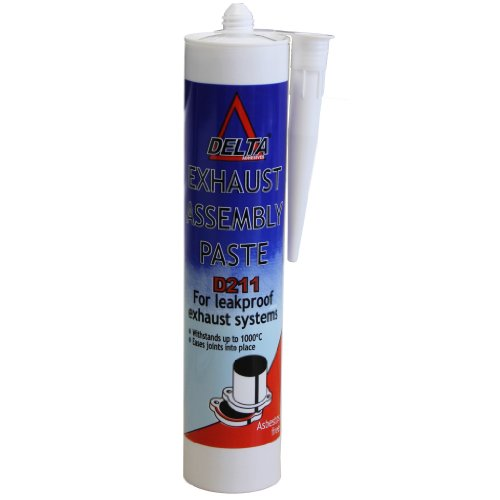 All Trade Direct 1 X Exhaust Assembly Paste 300ml 500g Cartridge Silencer Repair Seals Up To 1000Oc: