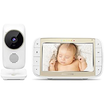 Amazon Com Motorola Mbp844 Connect 5 Quot Video Baby Monitor