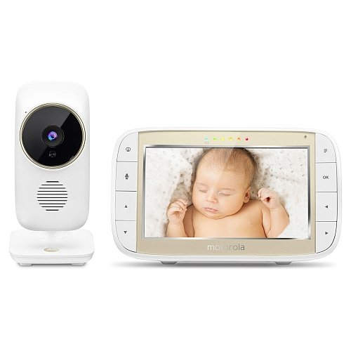 """Motorola 5"""" Video Baby Monitor with Wi-Fi Internet Viewing"""