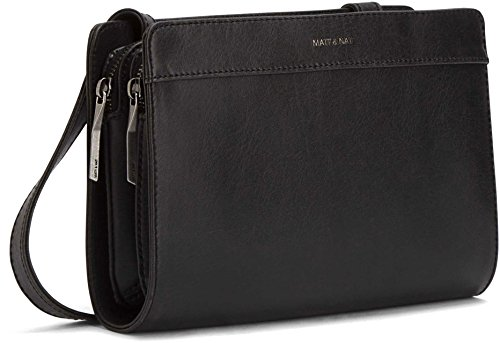 Matt and Nat Castell Vintage Crossbody Bag, Black