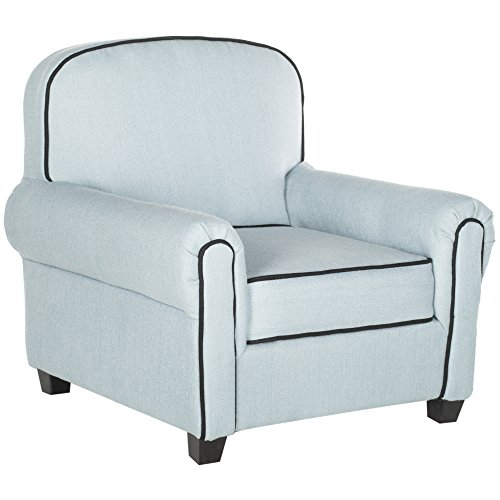 Safavieh Kids Collection Tiny Tycoon Club Chair, Blue by Safavieh (Image #1)