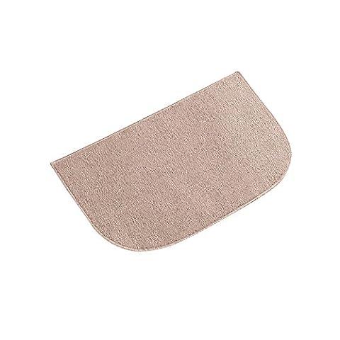 Berber High Traffic Skid-Resistant Utility Floor Rug, Sand, 18 X 28 - Slice Kitchen Rug