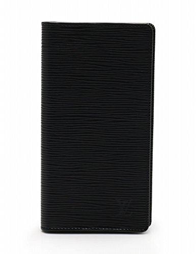 (ルイヴィトン) LOUIS VUITTON 札入れ 長財布 ポルトカルトクレディ 円 二つ折り エピ レザー 黒 M63212 中古 B078PFHKWD