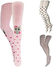 Sofnita Kids Tights - Opaque Cotton Blend Tights, Girls, Boys, and Toddlers-Stretch-Strong-Solid Colors and Pr