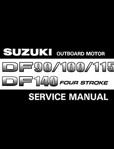 Suzuki Outboard, DF90, DF100, DF115, DF140 , 2001-2009 Repair Service Manual CD/DVD/PDF (Macintosh Repair)