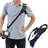 Quick Release Camera Strap Padded Shoulder Neck Sling Strap Belt Adjustable Shoulder Safety Tether Cameras Canon Nikon Sony SLR DV