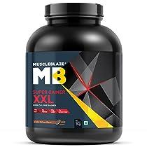 MuscleBlaze Super Gainer XXL 3kg Cookies Cream