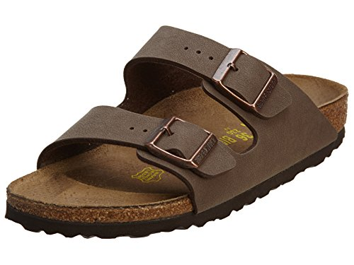 Birkenstock Arizona Birkibuc Sandal (Toddler),Mocha,26 Narrow EU by Birkenstock