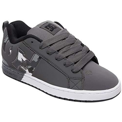 DC Men's Court Graffik SQ Skate Shoe camo 12 M US
