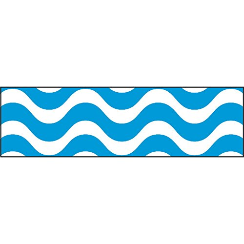 Wavy Border - TREND enterprises, Inc. Wavy Blue Bolder Borders, 35.75'