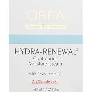 L'Oréal Paris Hydra-Renewal Continuous Moisture Cream, 1.7 fl. oz.