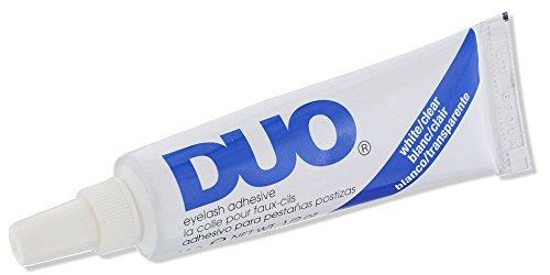 51c3-0xhDyL DUO Strip Eyelash Adhesive Clear, for Fake Strip Lash, 0.5 oz