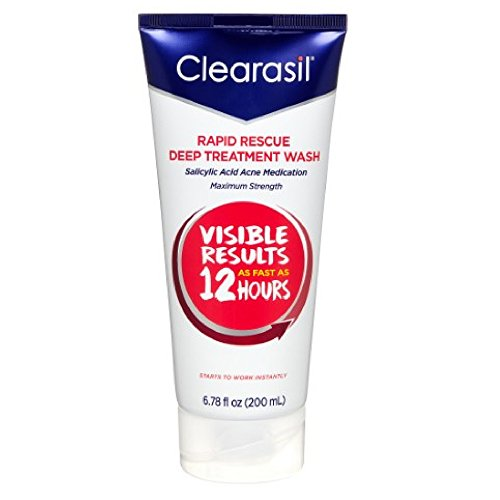 Clearasil Ultra Daily Face Wash 6.78 oz (Pack of 2) (Face Daily Ultra Clearasil Wash)