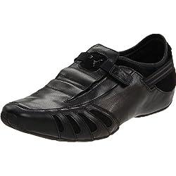 PUMA Men's Vedano Leather Slip-On Shoe
