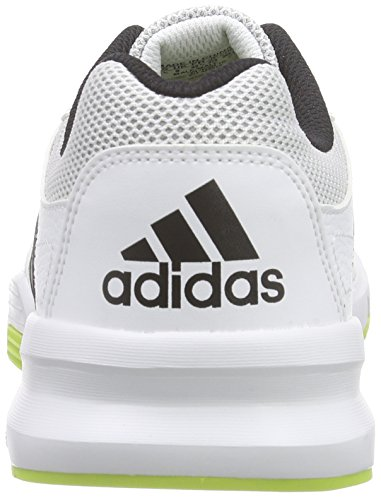 watch a7df7 08732 ... adidas Herren Essential Star 2 Hallenschuhe Weiß (Ftwr WhiteCore  BlackSemi Solar ...