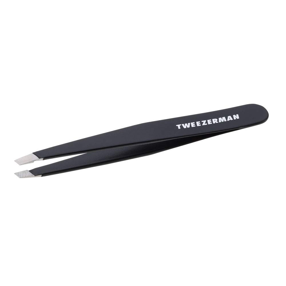 B000EMYJ88 Tweezerman Slant Tweezer - Black Model No. 1230-BR 41SdkL1IJgL