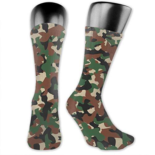 Chaussettes militaires Camo pour homme de randonnée et d'athlétisme, évacuant l'humidité, pour le terrking, les sports… 1