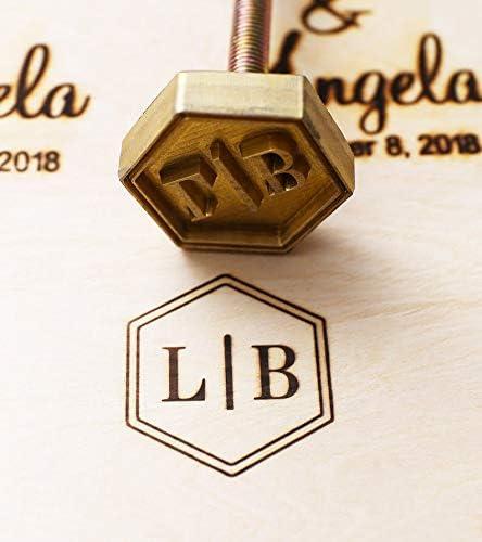 Amazon Com Custom Logo Wood Branding Iron Durable Leather Branding Iron Stamp Bbq Heat Stamp Including The Handle 3x3