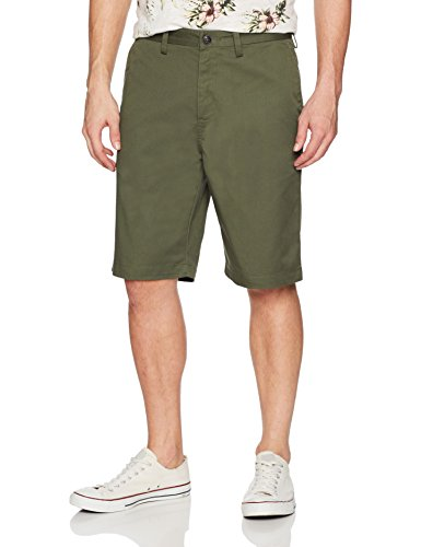Essex Walkshort - Billabong Men's Classic Chino Walkshort, Military, 32