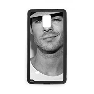 Chinese The Vampire Diaries Ian Somerhalder Cheap Cover Case for Samsung Galaxy Note 4,diy Chinese The Vampire Diaries Ian Somerhalder Cell Phone Case