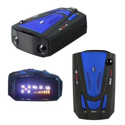 alerte vocale D/étecteur de radars 2018 pour voiture/- 360/° 16/GPS Smartpro