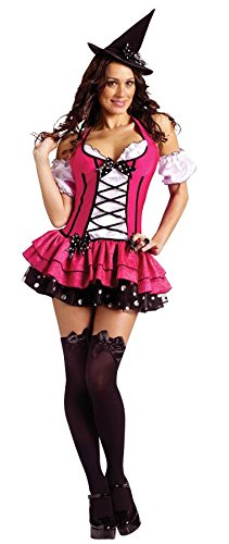 Sugarn Spice Witch Costumes (Sugar N Spice Witch Adult Costume - Small/Medium)