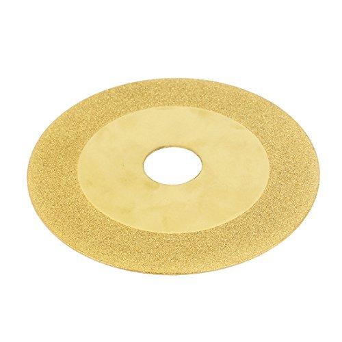 (DealMux 4 x 3/4 Glass Tile Diamond Grinding Cutting Wheel Disc Gold Tone)