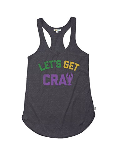 Tipsy Elves Women's Mardi Gras T Shirt Outfits - Female Mardi Gras Costume Attire Ideas ... (Let's Get Cray, XX-Large)
