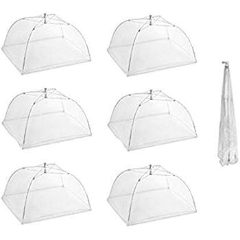 Onener Set of 6 Large Pop-Up Mesh Screen Food Cover Tent Umbrella - 16  sc 1 st  Amazon.com & Amazon.com | Onener Set of 6 Large Pop-Up Mesh Screen Food Cover ...