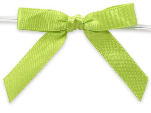 6ct. Pre-Tied Lime Green 2