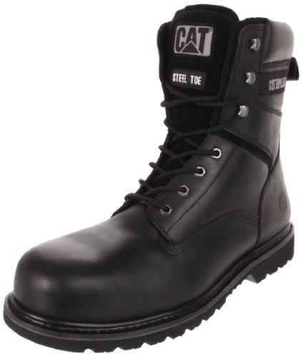 Boot Black Mens Caterpillar 8 Rangler Toe Steel MR Work 0Ax8xRqw