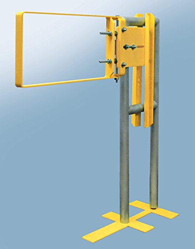 Fabenco A71-21PC A-Series The Original Self-Closing Safety Gate, A36 Carbon Steel with Yellow Powder Coat, 22-to-24.5-Inch x 12-Inch by Fabenco (Image #2)