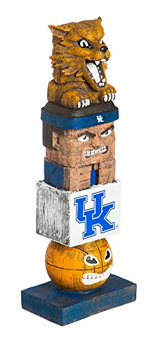 Evergreen NCAA Kentucky Wildcats Tiki Totem (Best Wood For Carving Uk)
