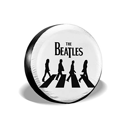PEACE NEW STORE The Beatle Logo Tire Covers Weatherproof Tire Protectors,Waterproof Polyester Tire Sun Protectors, Fits 23