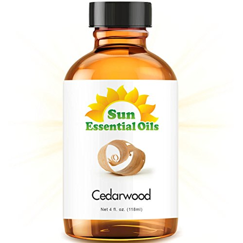 Cedarwood (Large 4 ounce) Best Essential Oil