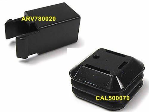 - Genuine LAND ROVER FUEL TANK DOOR REPAIR SET LR3 SPORT LR4 CAL500070 ARV780020