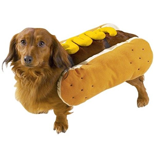 HOT DOG COSTUMES for DOGS Mustard and/or Ketchup Available in Three Sizes ! (Large - Mustard Costumes Dog And Ketchup