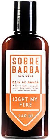 Balm de Barba Light My Fire, Sobrebarba, Laranja, 140 Ml