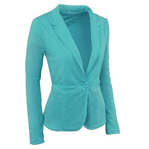 Lunga Fit Donna Leisure Alta Manica Corto Moda Cappotto Suit Slim Tailleur Qualit Blazer Bavero Autunno Betrothales Button wO0knP