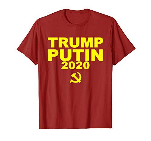 cacf2b0e Vote trump putin 2020 election campaign shirts the best Amazon price ...