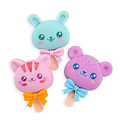 OOLY, Cutie Pops, Strawberry Scented Erasers - Set of 3: Arts, Crafts & Sewing