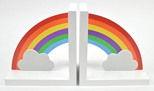Concepts in Time D6547WH Rainbow Bookends by Time Concept