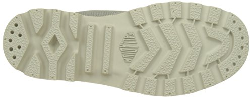 Unisex Altas SPOR U Plateado Zapatillas Silver Cuf Adulto Wpn Birch Palladium URTOYxO