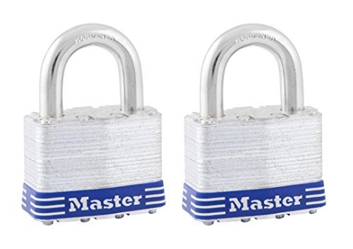 Master Lock 5T 2'' No. 5 Laminated Padlock 2 Per Pack